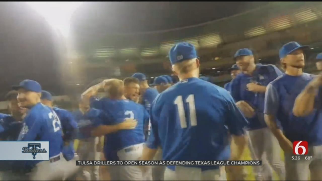 Tulsa Drillers Start Season As Defending Texas League Champs
