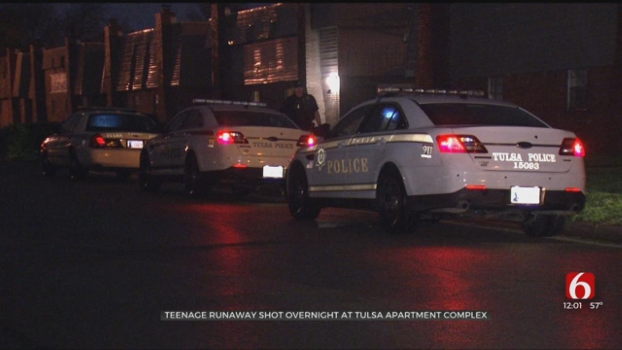 Teen Shot At Tulsa Apartment Complex