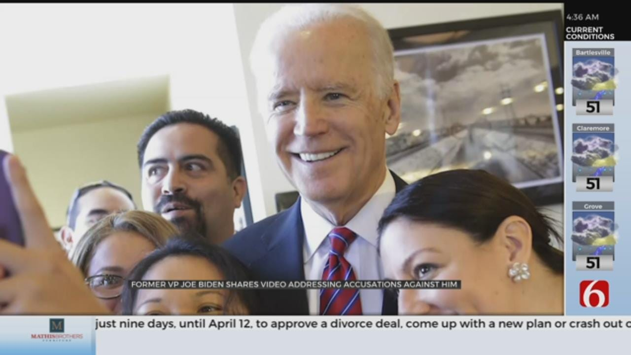 Biden Says He Will Be More 'Respectful And Mindful' Of Personal Space