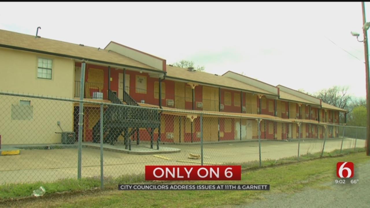 City Councilors Express Concern About Tulsa High Crime Motels