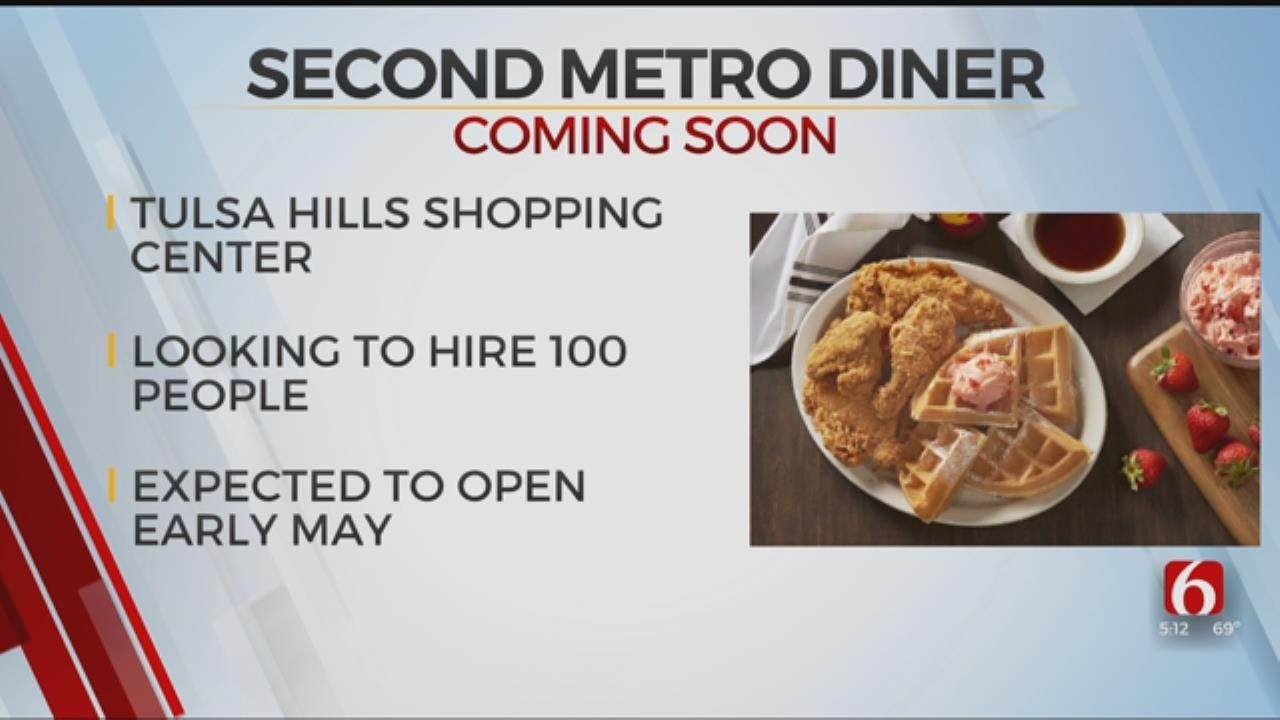 Second Metro Diner To Open In Tulsa