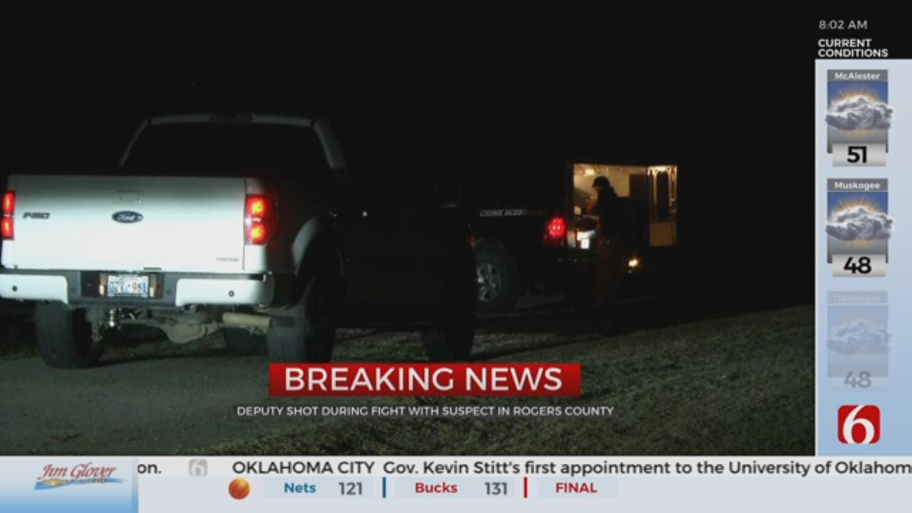 Rogers County Deputy Shot After Standoff