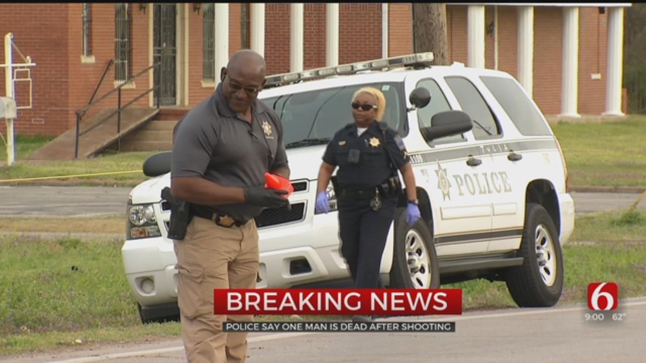 Tulsa Police: 1 Dead In Possible Self-Defense Shooting