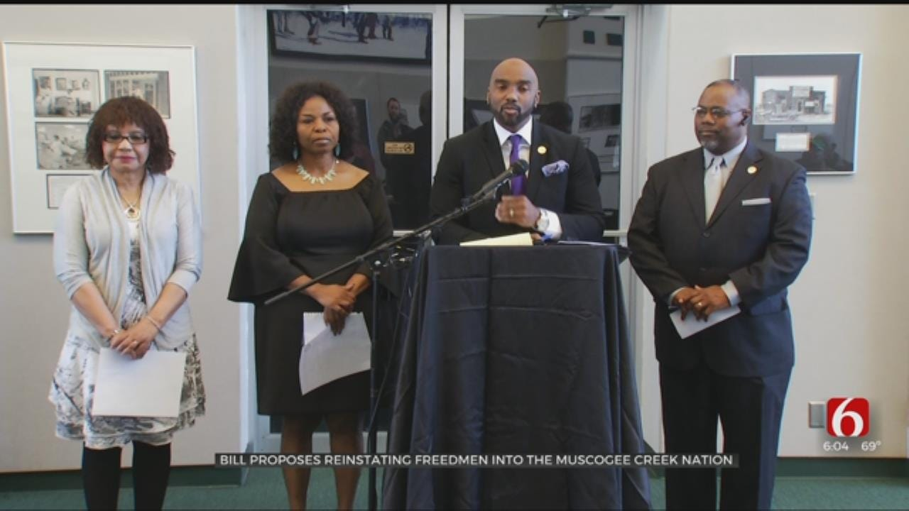 Bill To Restore Creek Freedmen Tribal Rights 'Long Overdue,' Supporters Say