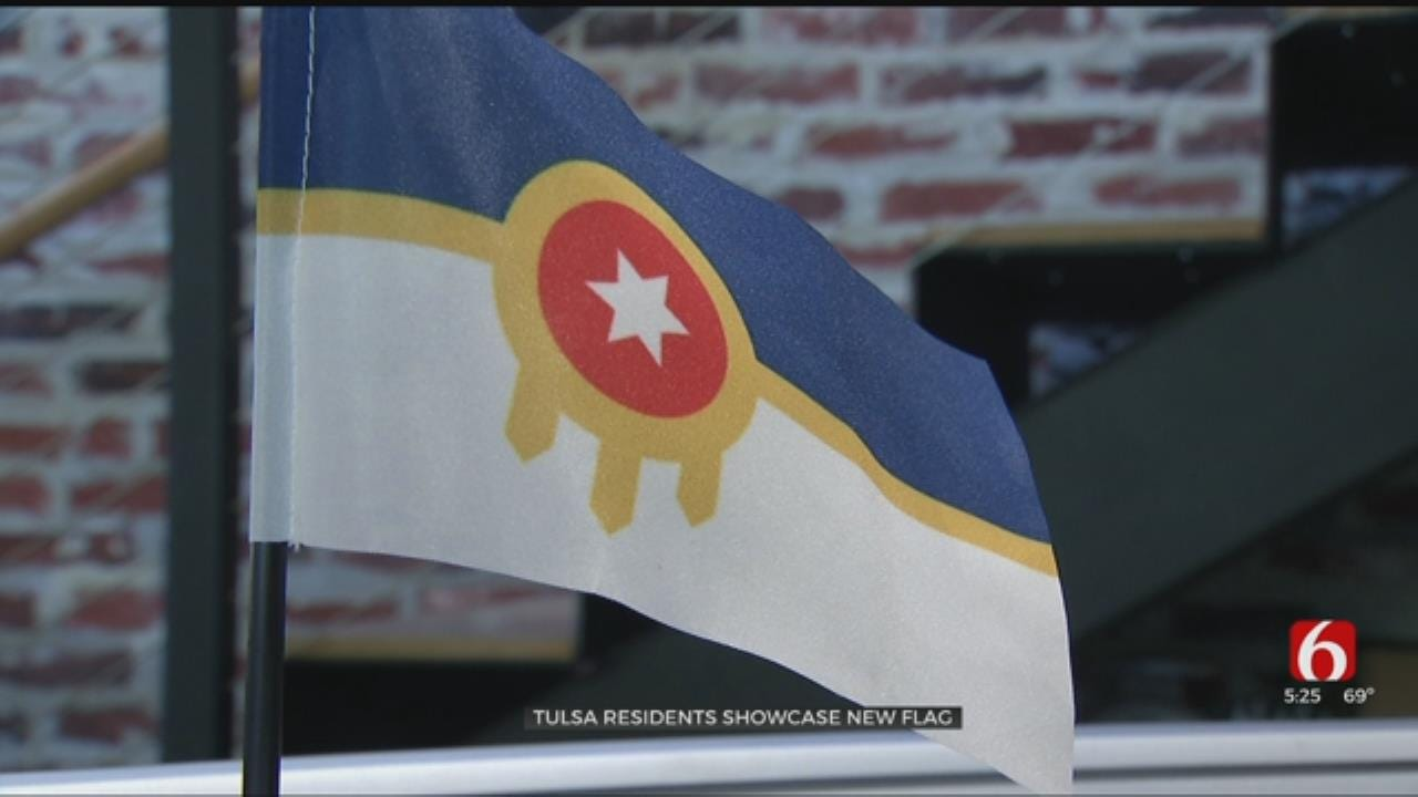 Months After City Approval, Tulsa Flag Catching On