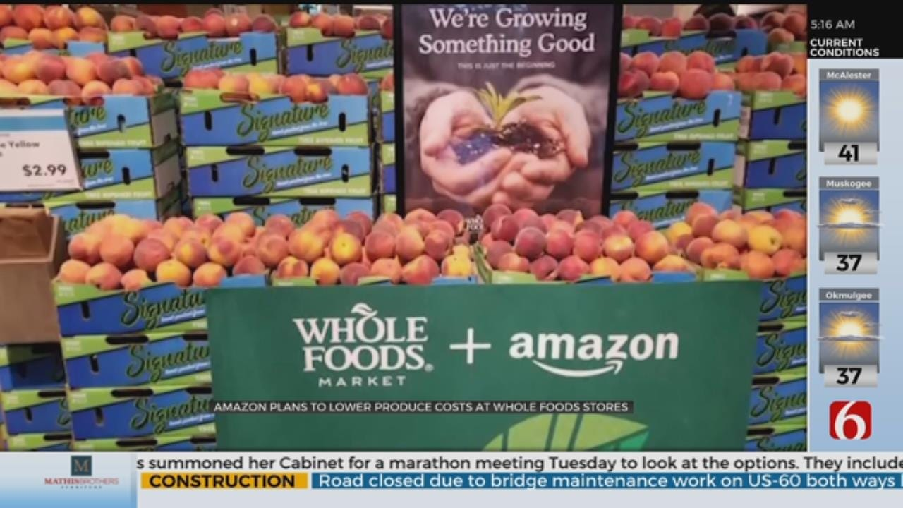 "Amazon Lowers Whole Foods Prices, Countering ""Whole Paycheck"" Image"