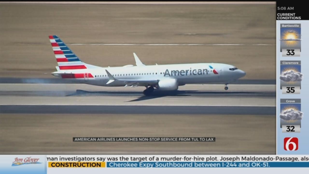 Nonstop Flight From Tulsa To LA Starts