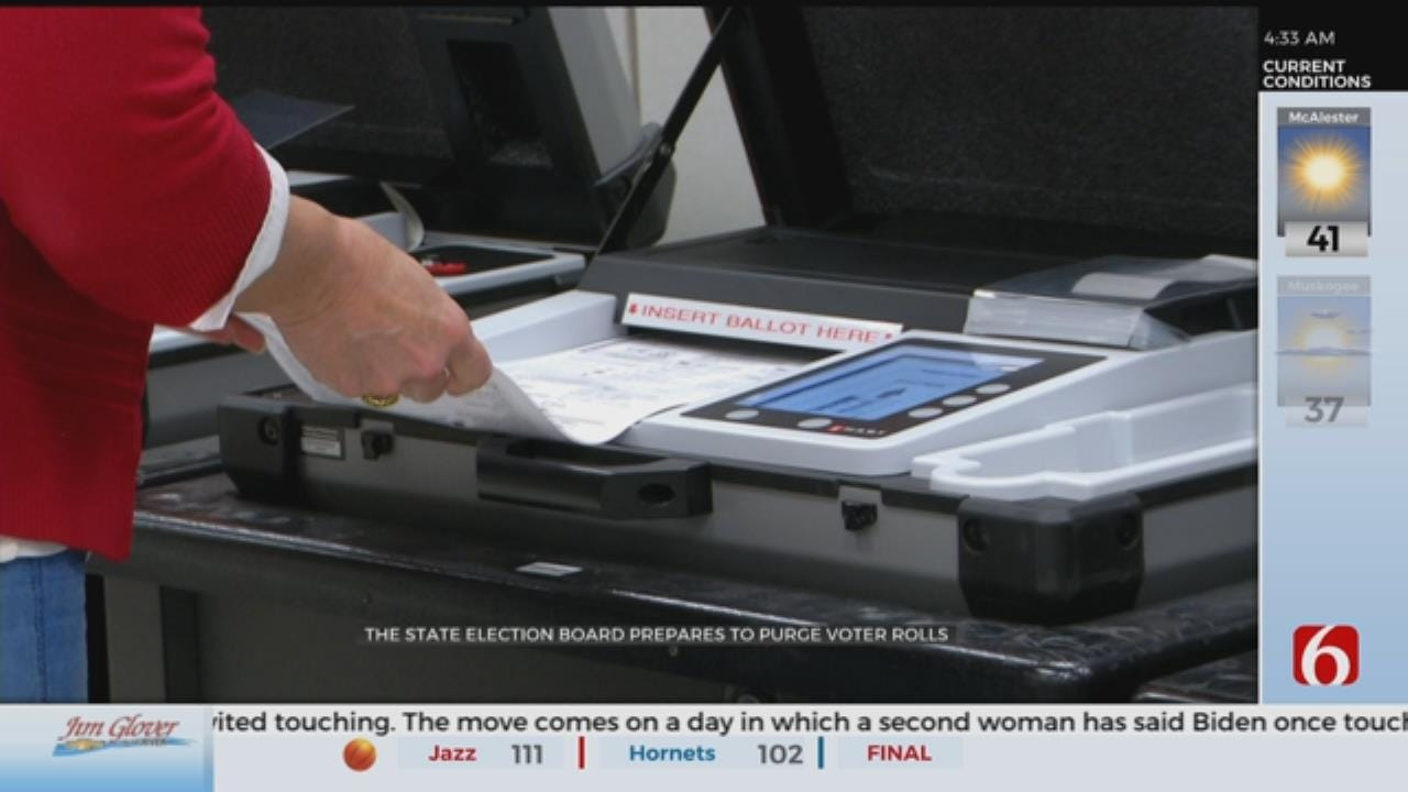 Inactive Voters To Be Purged From Oklahoma Voter Rolls