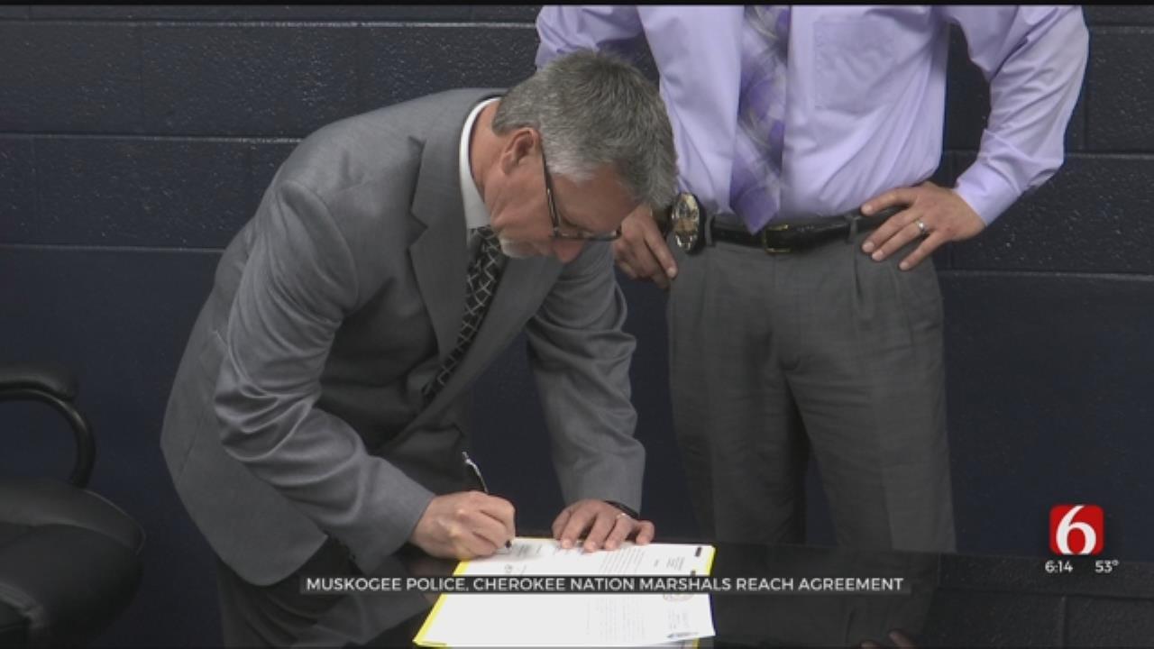 Muskogee PD And Cherokee Nation Establish Cross-Deputy Agreement