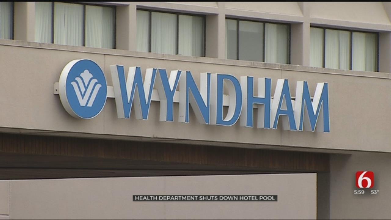 Pool At Tulsa's Wyndham Hotel Shut Down After 7 People Get Sick