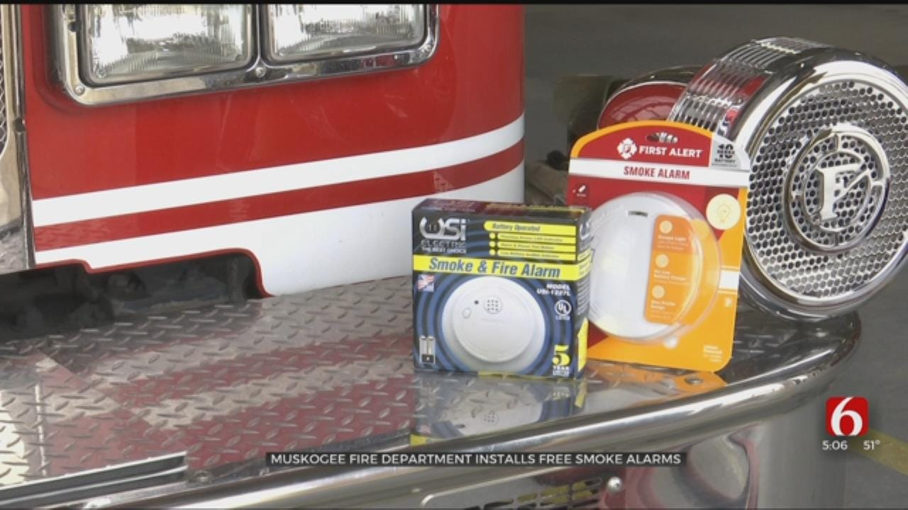 Muskogee Fire Department Offers Free Smoke Alarms