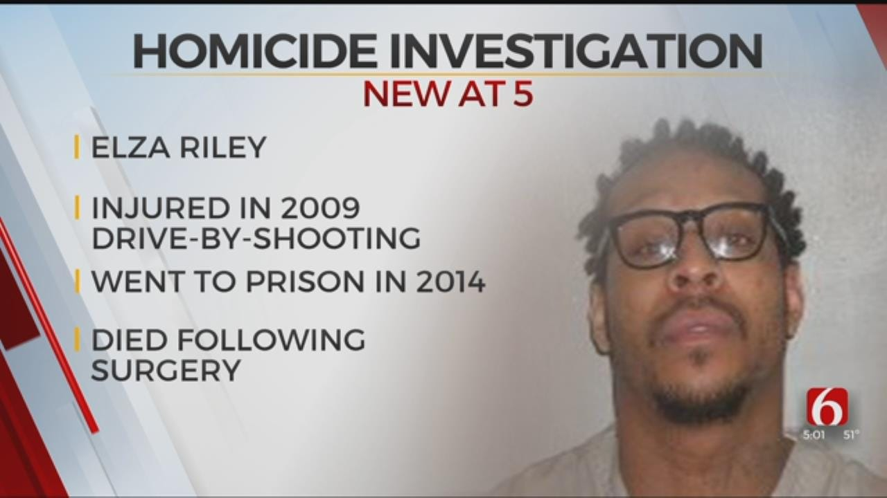 Recent Death Of 2009 Drive-By Shooting Victim Ruled Homicide, Tulsa Police Say