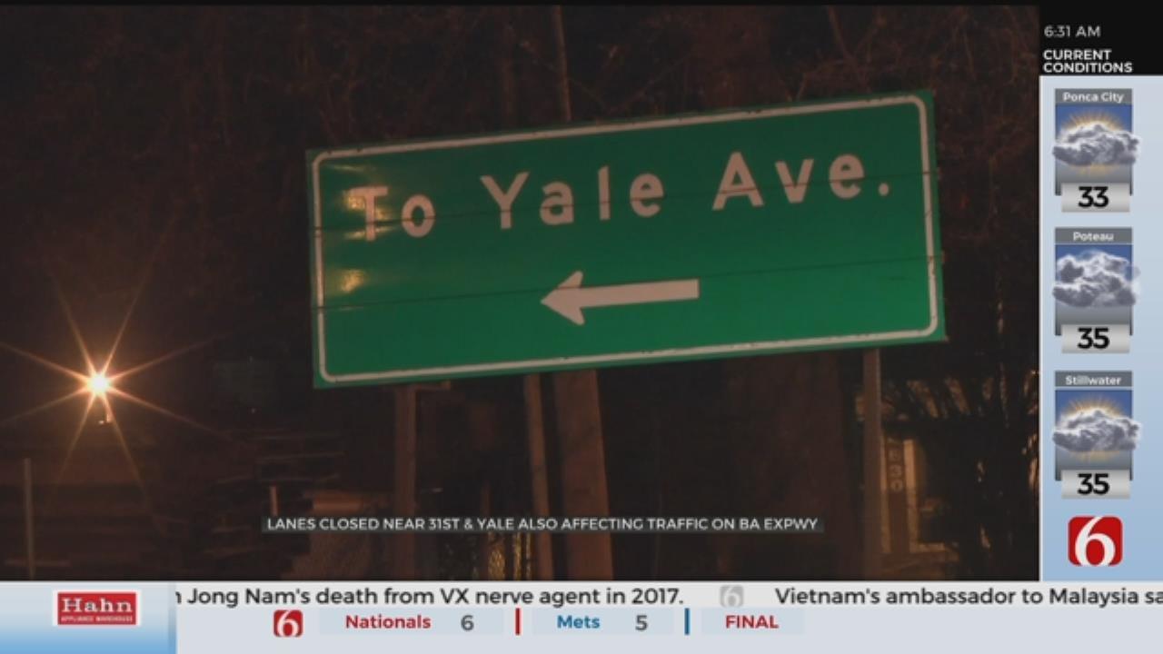 Tulsa Lane Closures Impact Midtown Traffic