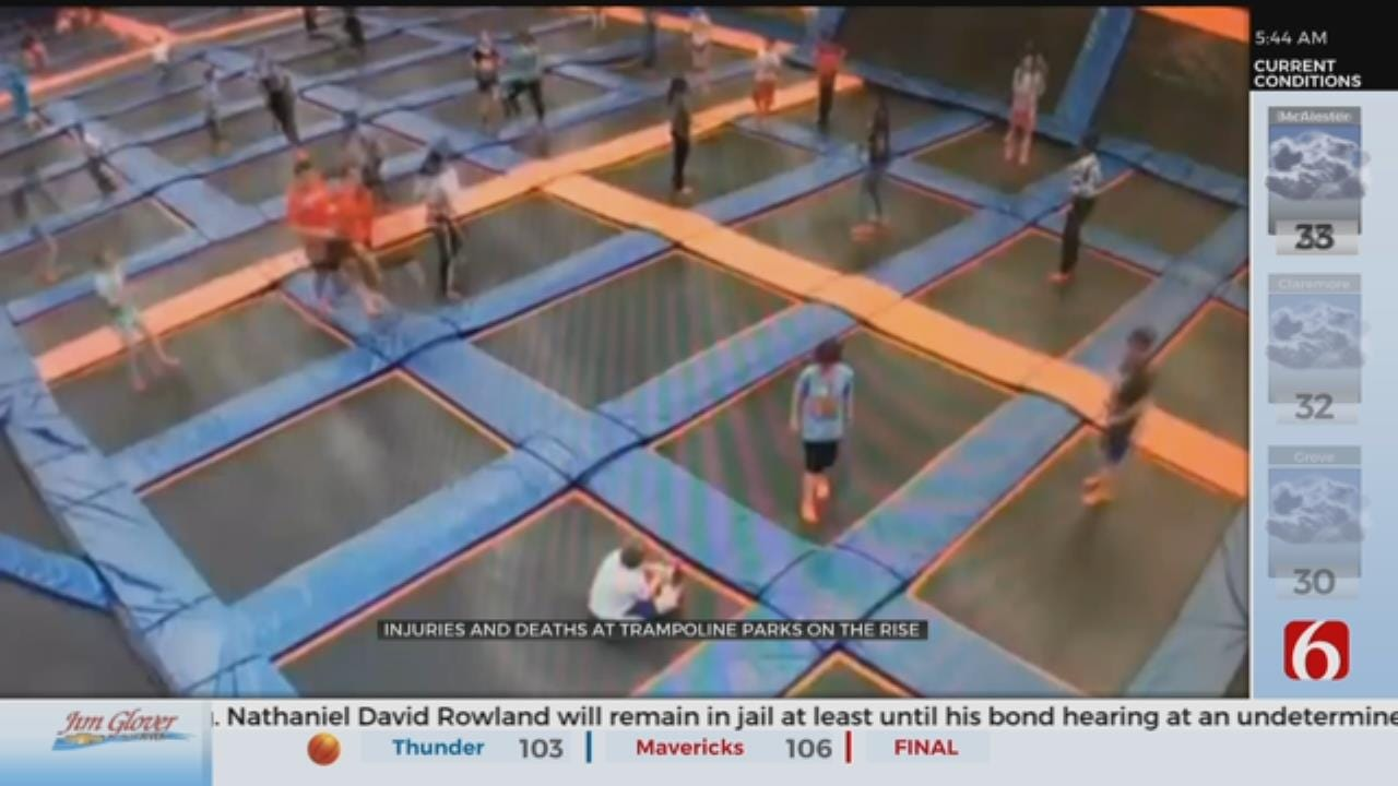 Trampoline Parks Gaining Popularity, Experts Warn Of 'Catastrophic Injuries'
