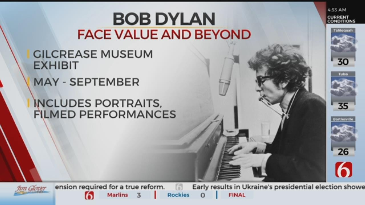 Gilcrease Museum Opening Bob Dylan Exhibition