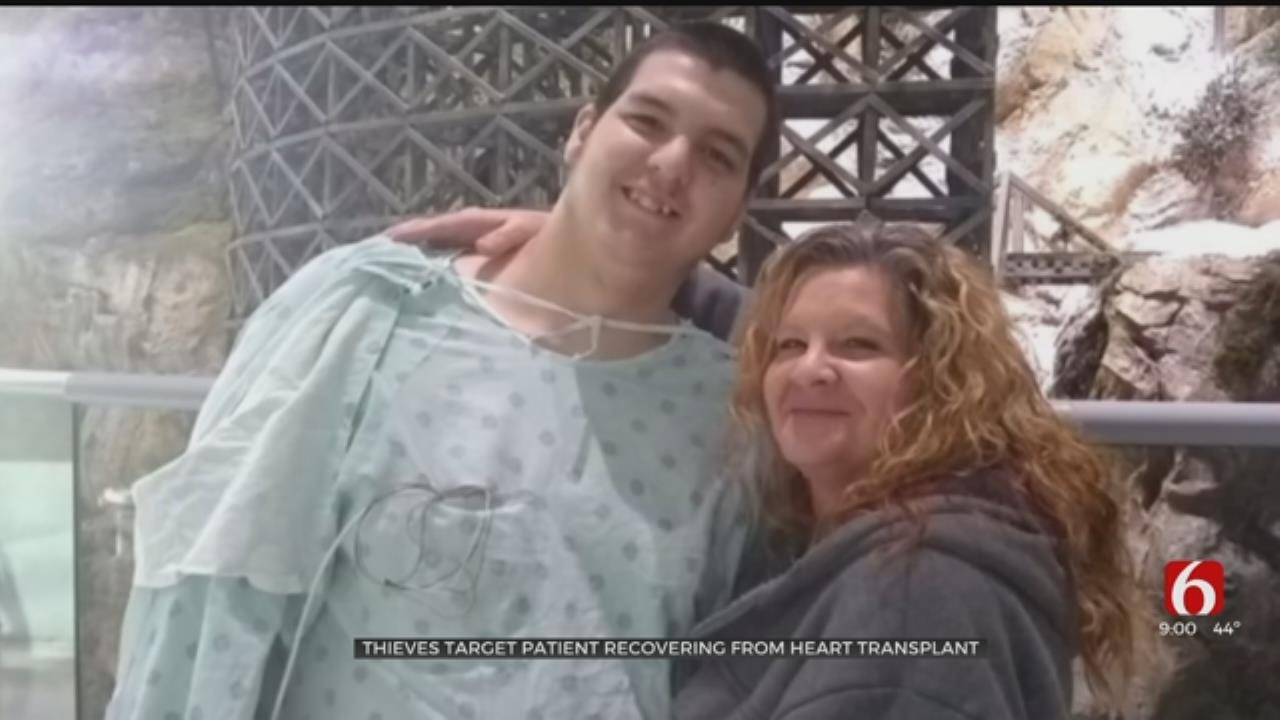 Thieves Target Family Of Okla. 16-Year-Old Recovering From Heart Transplant