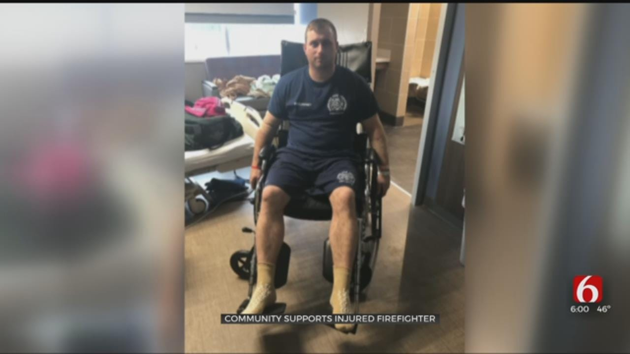 Community Supports Okmulgee Firefighter Injured In Rodeo