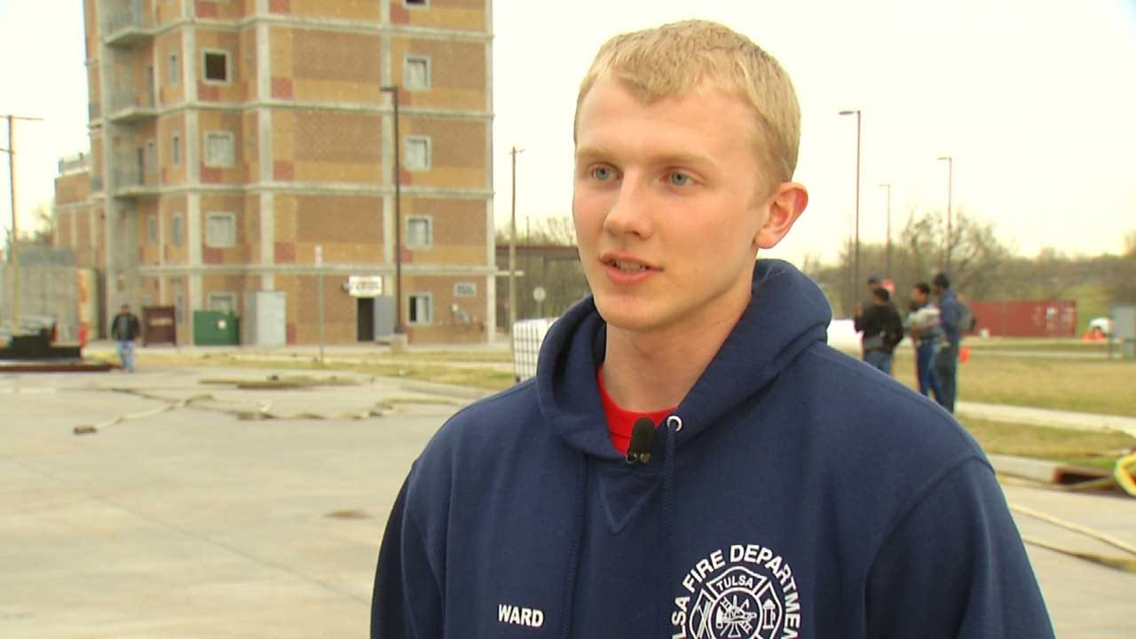Fourth Generation Firefighter Joins Tulsa Cadet Classes