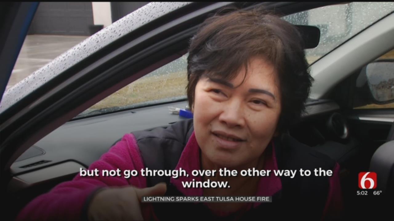 Lightning Bolt Crashed Through Living Room, Tulsa Woman Says