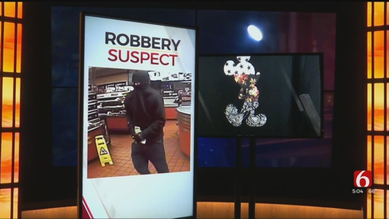 Police Hope Mickey Mouse Sweater Will Help Get Robbery Suspect Caught