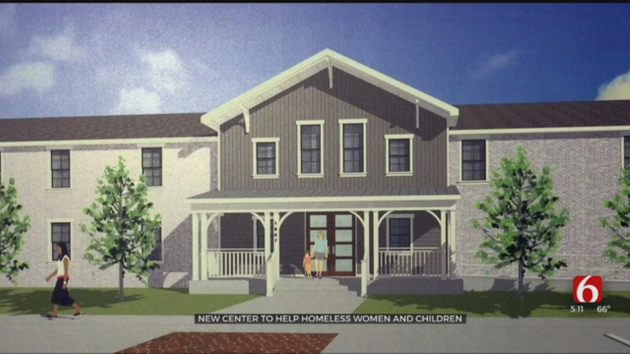 New Center To Help Homeless Women And Children In Tulsa