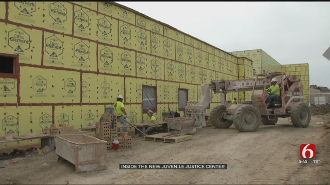 Tulsa's New Juvenile Justice Center To Open By End Of Year