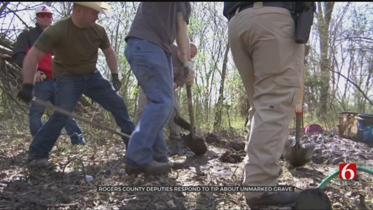 Rogers County Deputies Get Tip About Possible Unmarked Grave