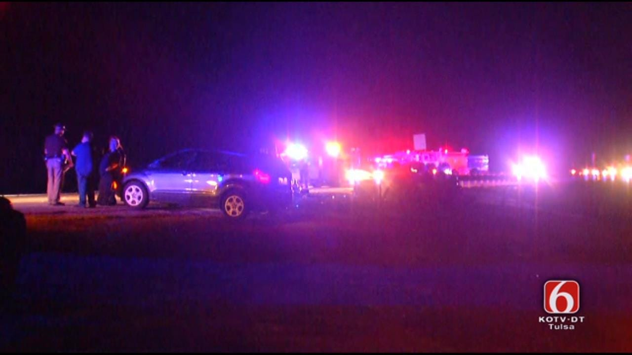 WATCH: OHP Investigates Fatal Wreck On Keystone Dam Bridge