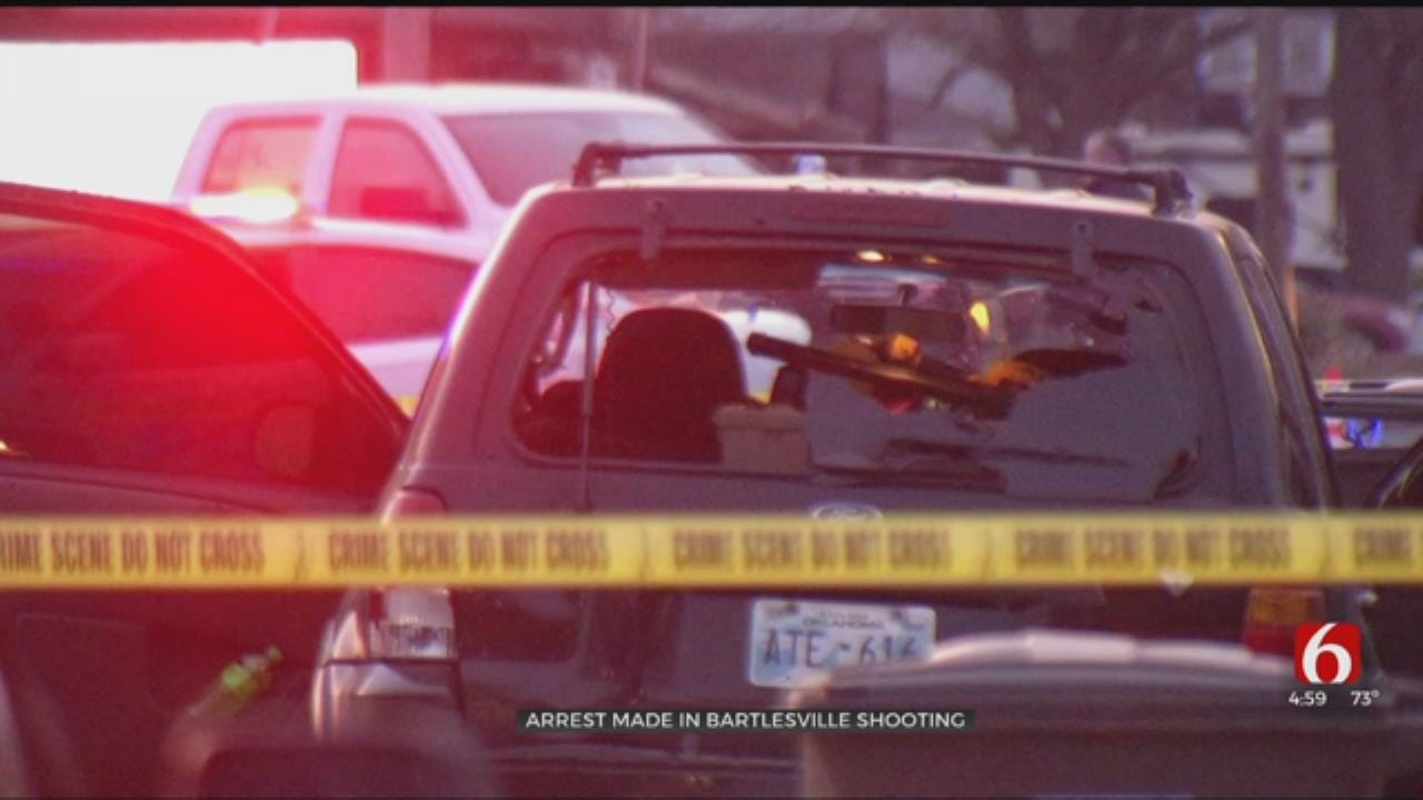 Suspect In Bartlesville Shooting Arrested In Bristow, Police Say
