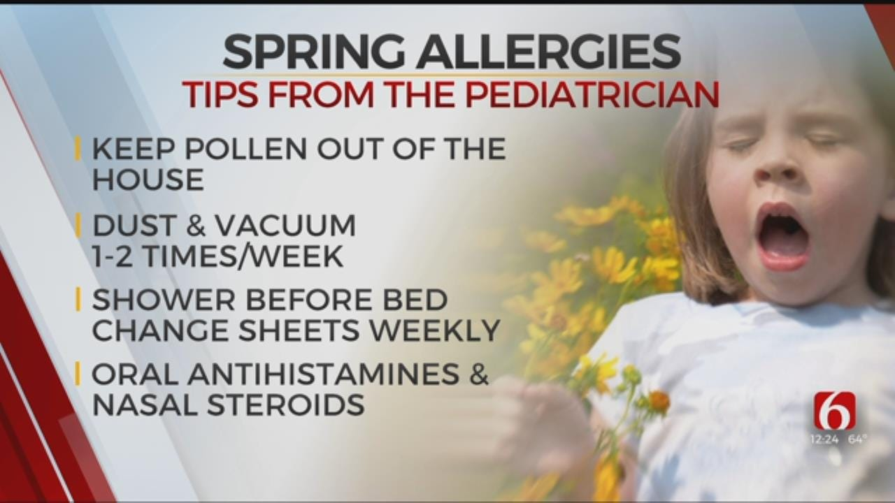 WATCH: Tulsa Pediatrician Gives Tips For Spring Allergy Sufferers