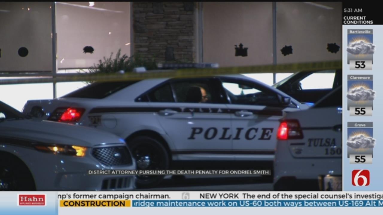 District Attorney Seeks Death Penalty in Tulsa Murder Case