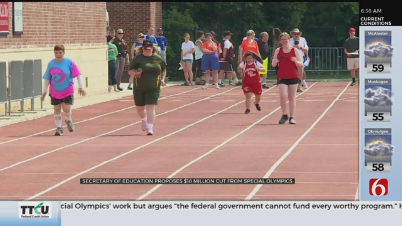 DeVos Defends Proposal To Cut Federal Funding For Special Olympics