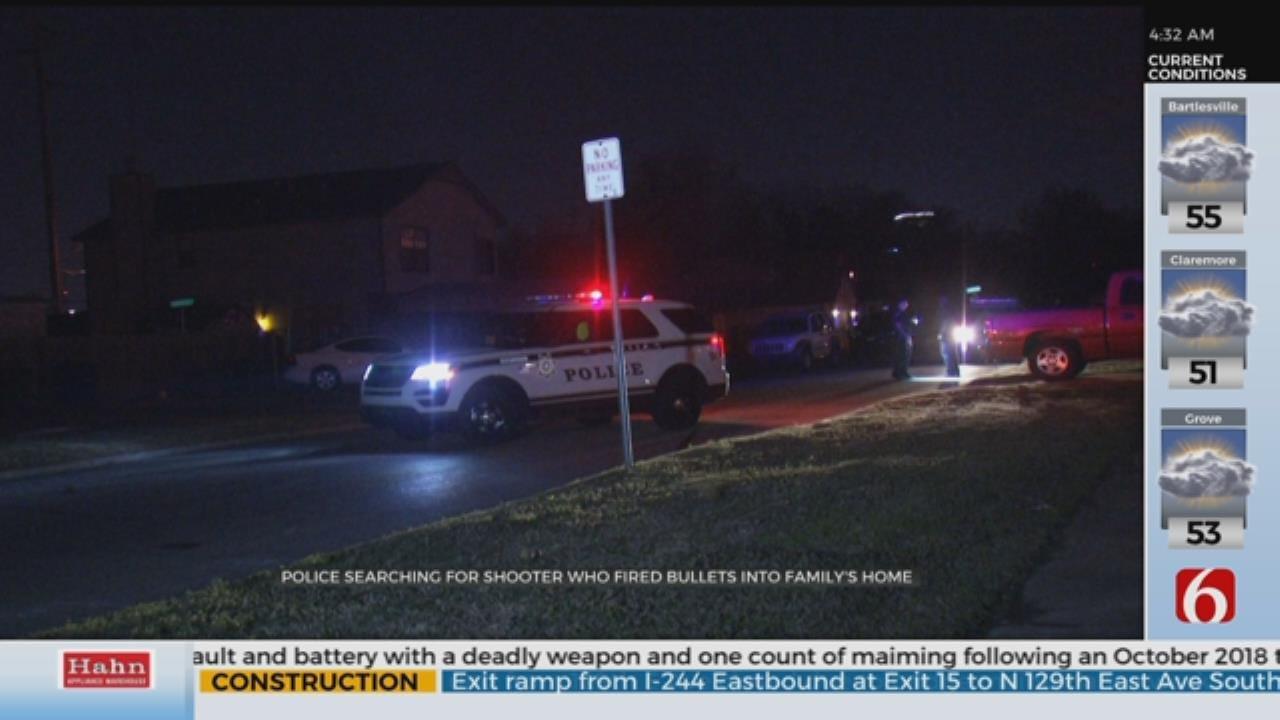 Tulsa Family Wakes To Gunshots, Someone Shooting Into Home