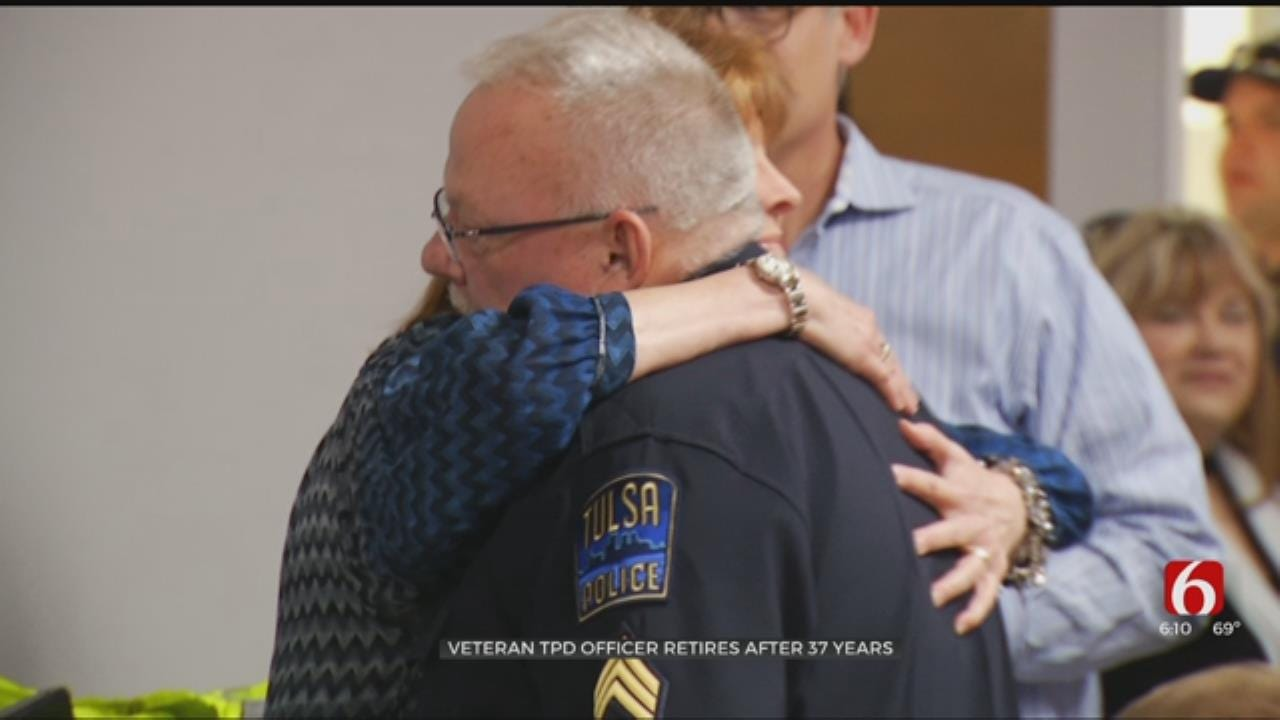 Veteran TPD Officer Retires After 37 Years