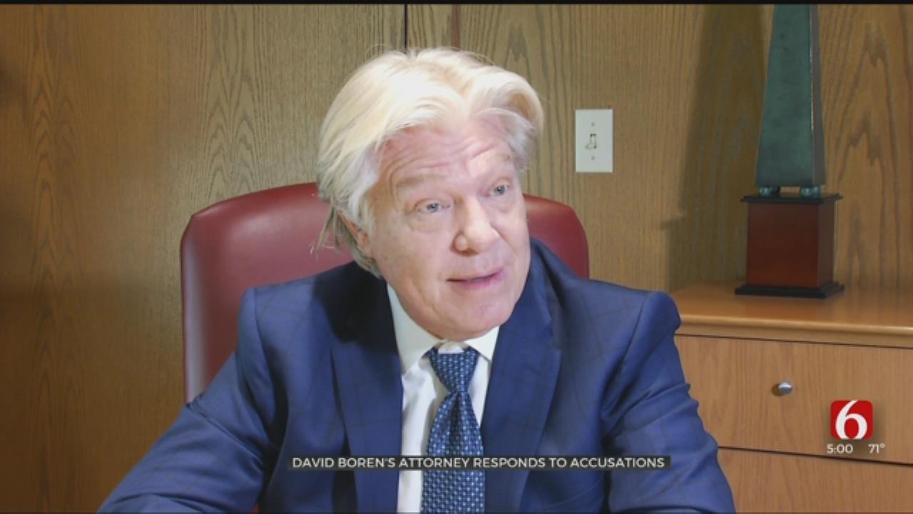 David Boren's Attorney Responds To Accusations