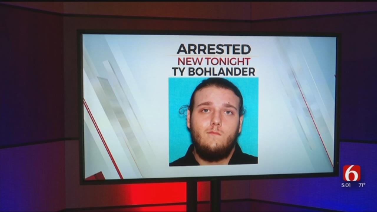 Suspect Wanted For Murdering Tulsa Man Captured In California