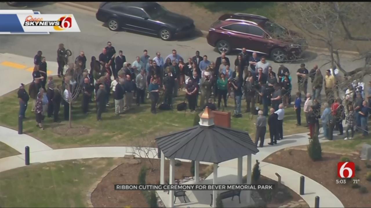 New Broken Arrow Park Honors Victims Of Tragic Murder