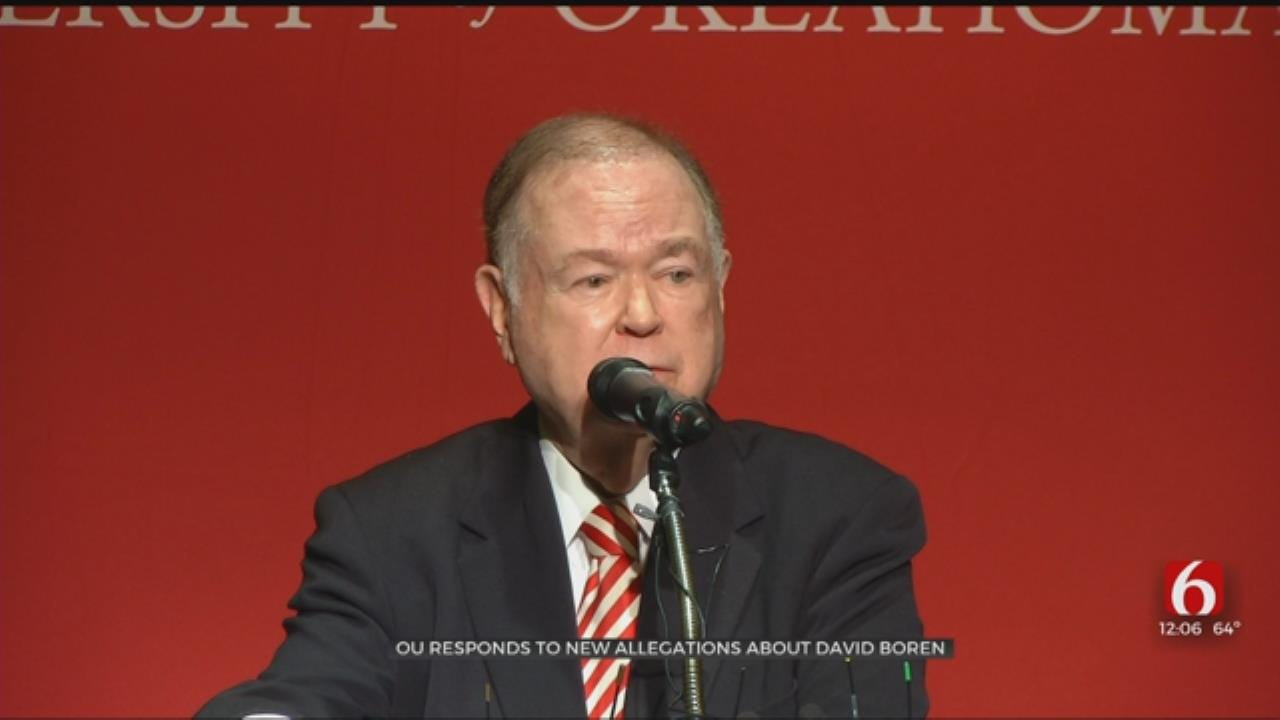 OU Responds After New Report Details Sexual Misconduct Involving David Boren