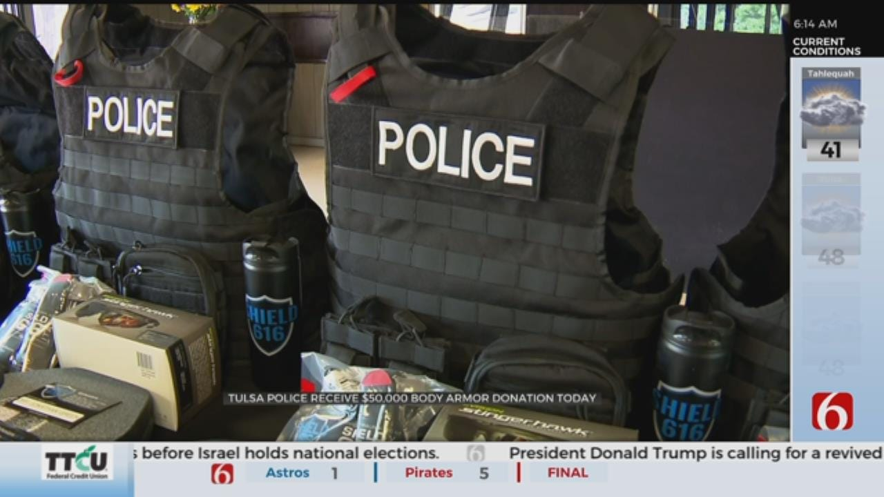 Tulsa Police Department Set to Receive Lifesaving Gear