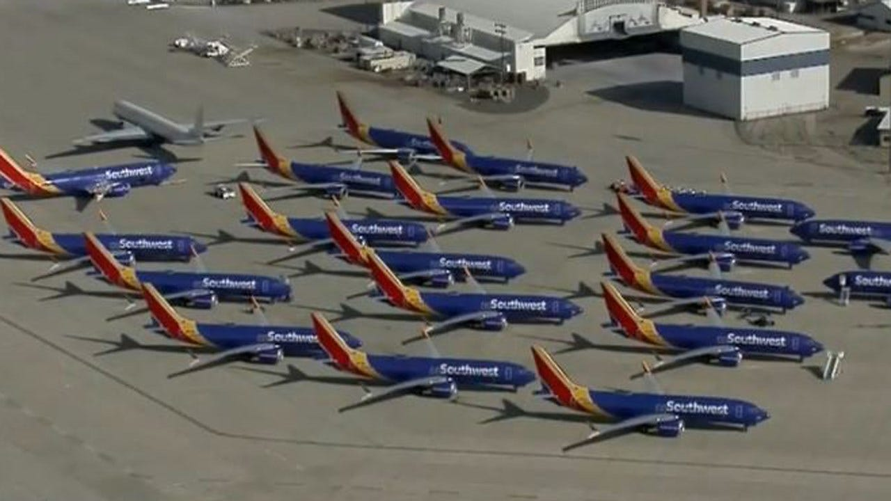 Southwest Boeing 737 Max Jet Makes Emergency Landing