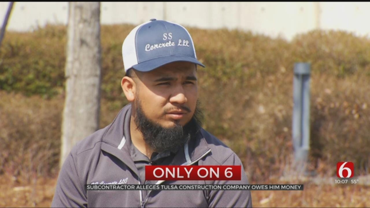 OKC Contractor Alleges Tulsa Construction Company Owes Him Money