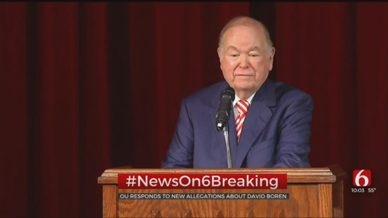David Boren Accused Of Sexual Misconduct By Former Teaching Aide