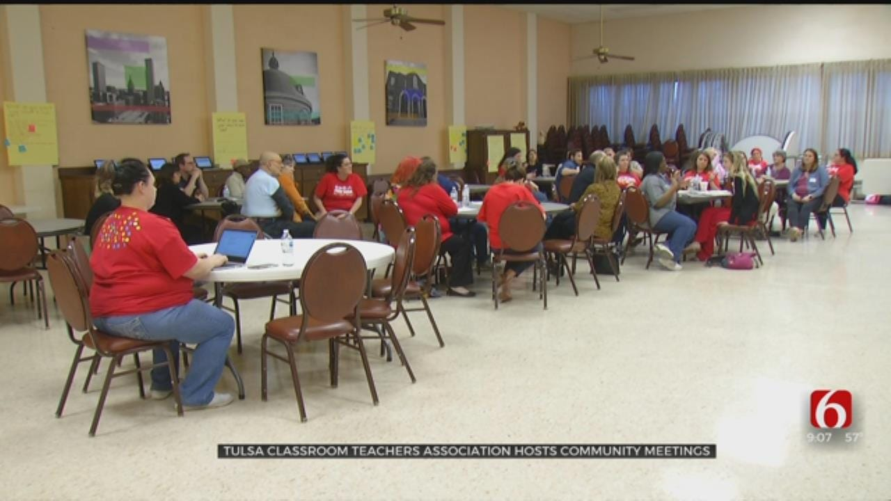 Teachers And Parents Gather In Tulsa To Discuss Future Of Oklahoma Education
