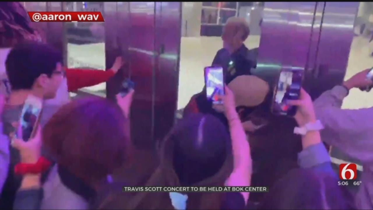 BOK Increases Security for Travis Scott's Rescheduled Concert