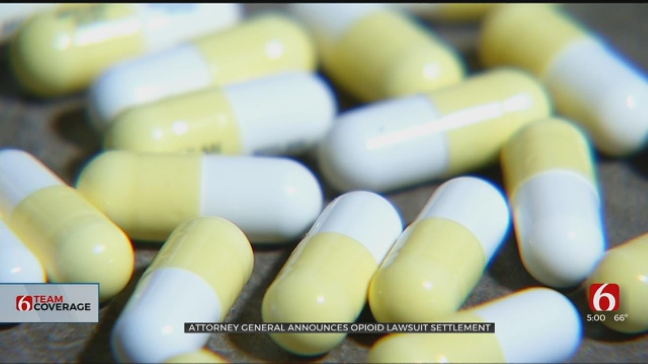 Oklahoma Opioid Lawsuit Settlement To Fund OSU Treatment Center