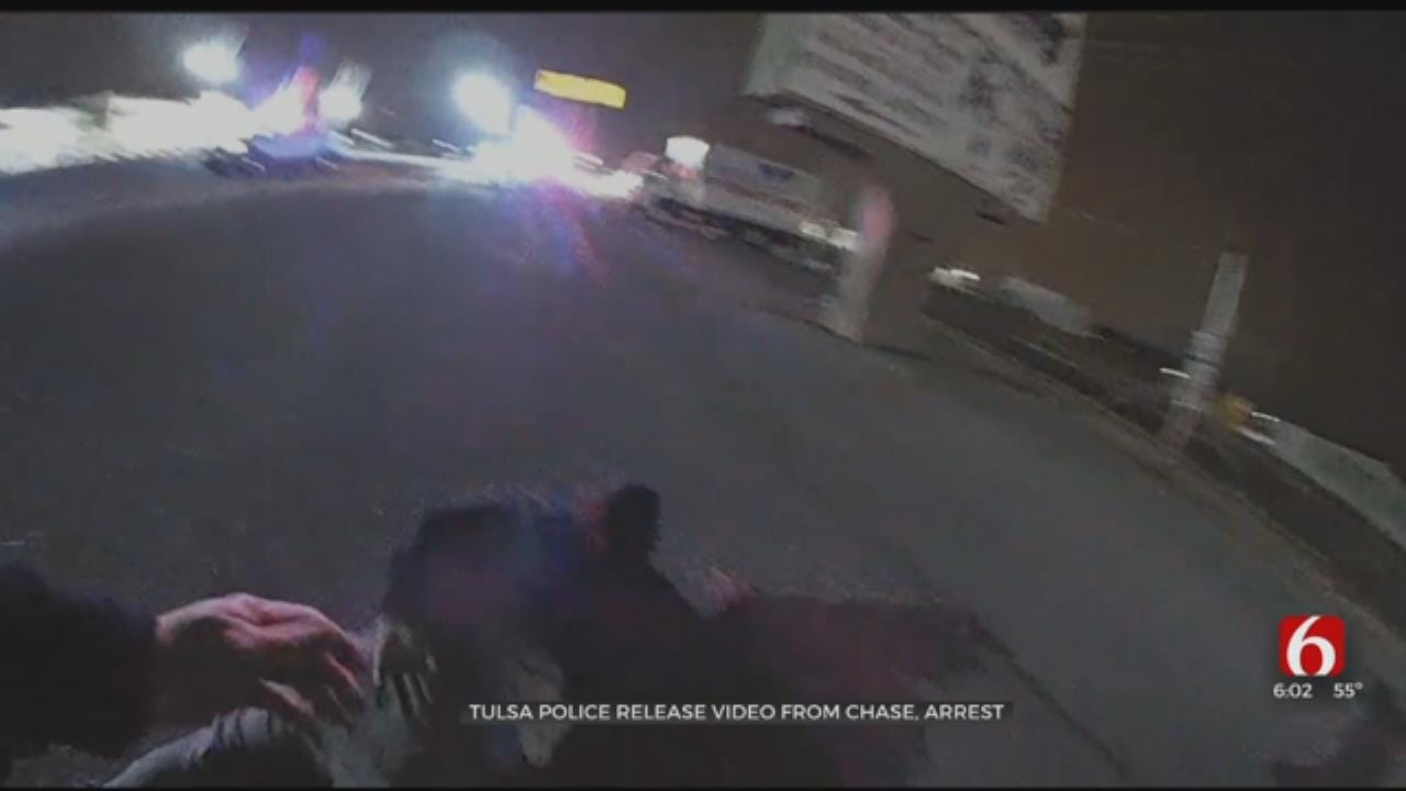 Video Released From TPD Arrest Of Wanted Osage County Man