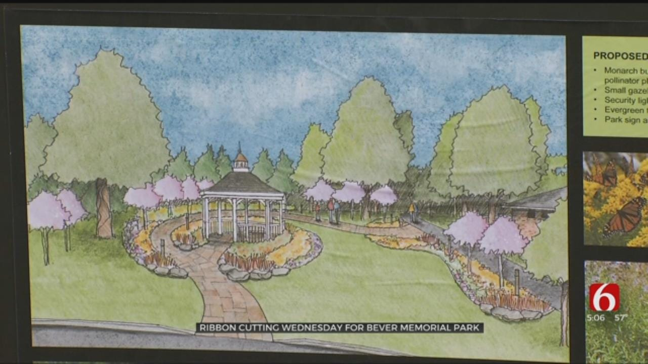 Broken Arrow To Open 'Reflection Park' In Memory Of Bever Family