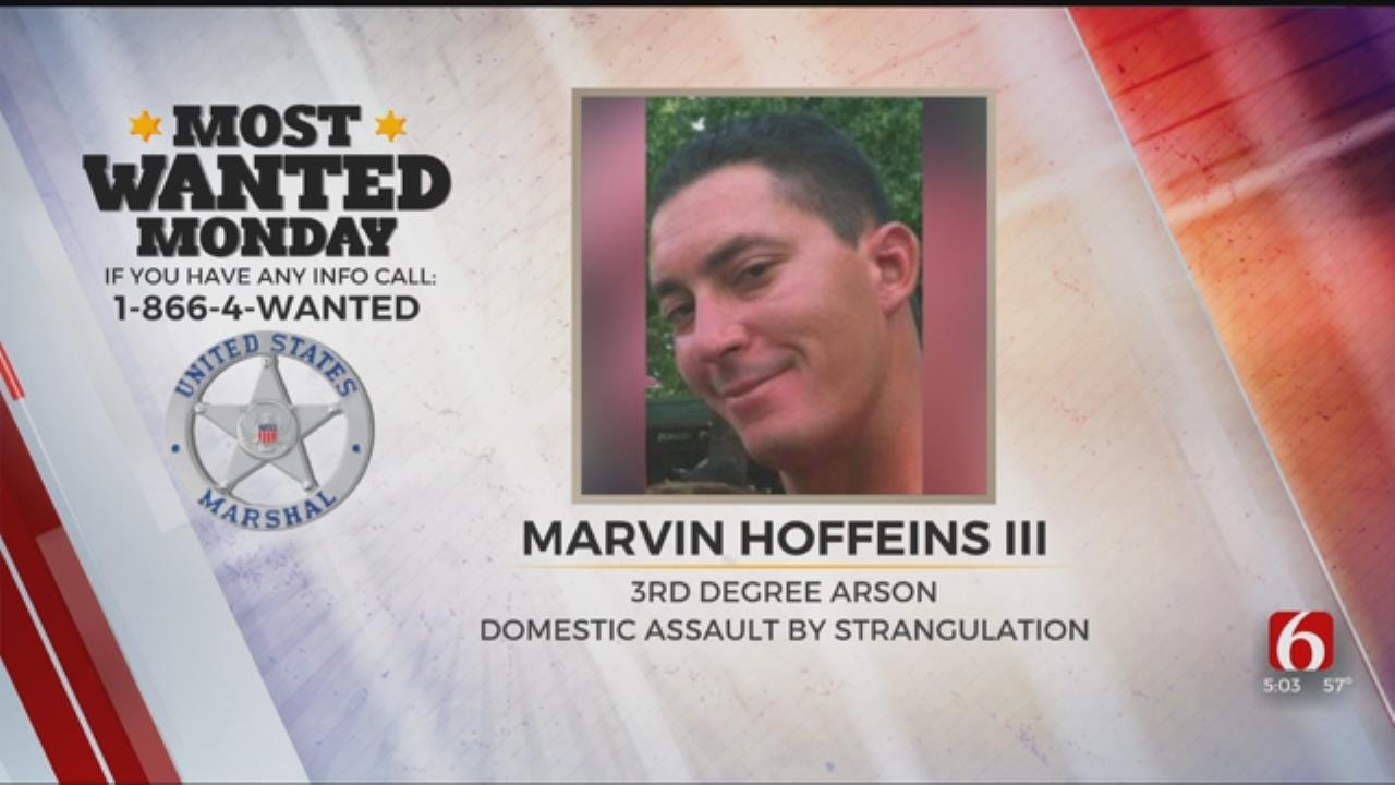 U.S. Marshals Believe Wanted Man Lives In Tulsa