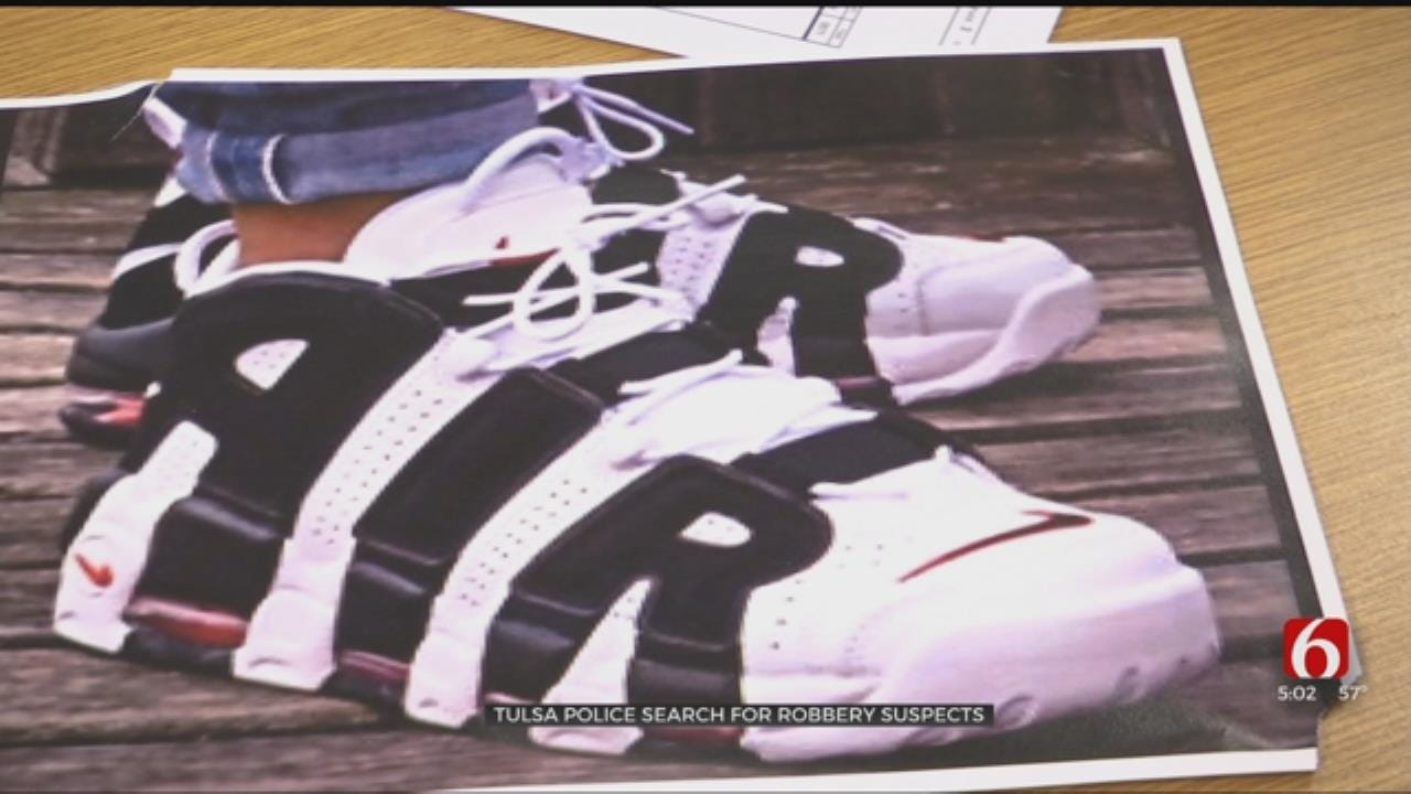 TPD Says Unique Shoes May Help Identify Robbery Suspects