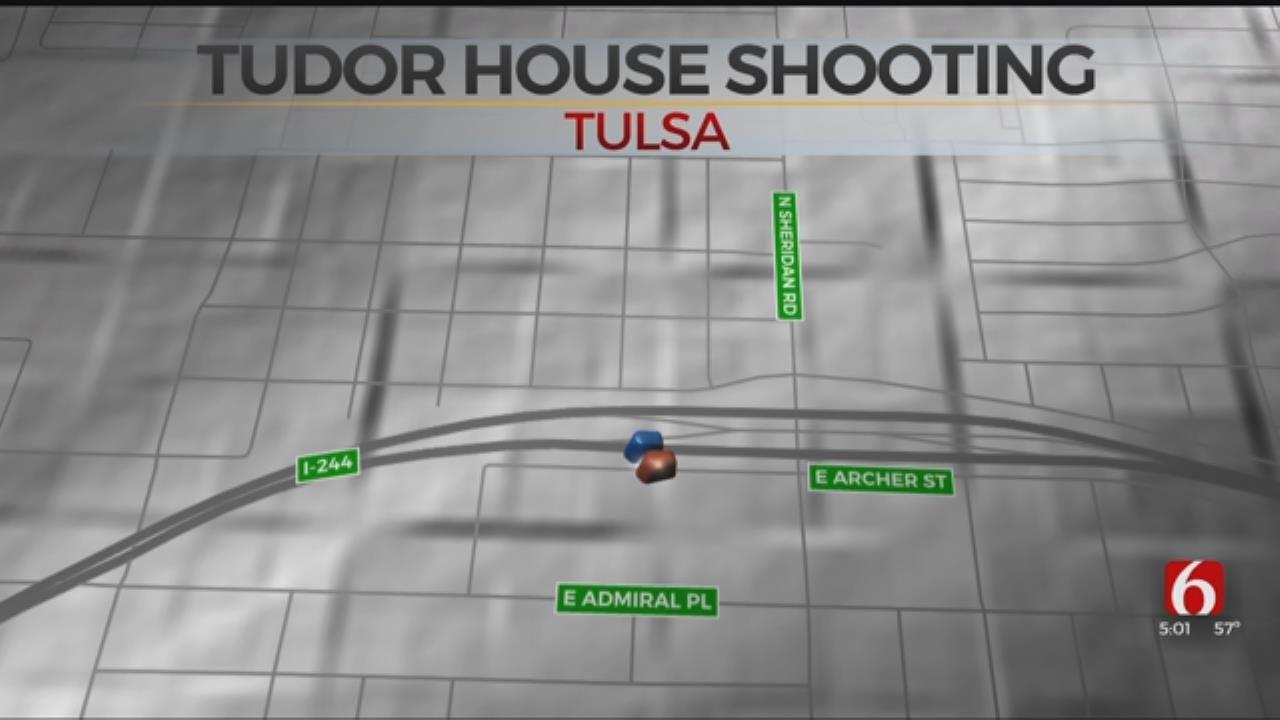 Tulsa Police Say Man Wounded In Shooting At Tudor House Inn